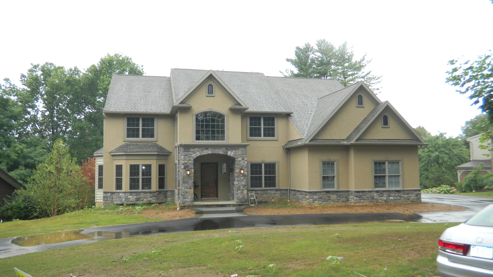 L&L Services PA completed stucco work on this house in Berks County PA